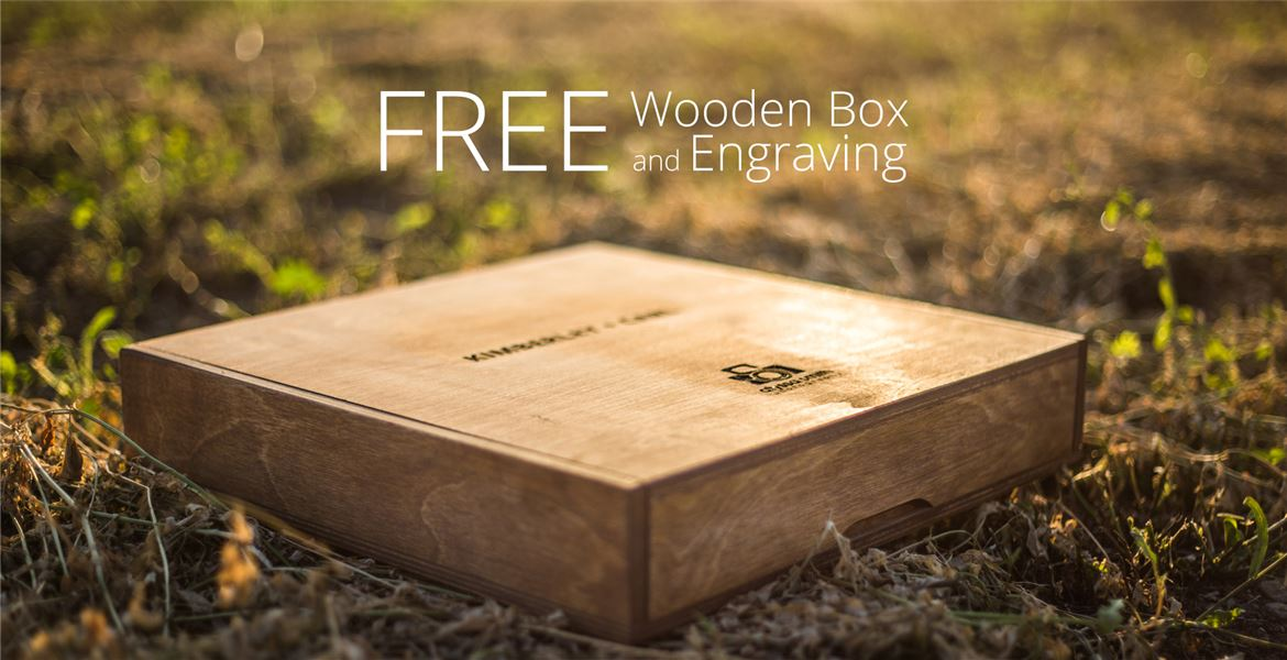 Free Wooden Box and Engraving..!